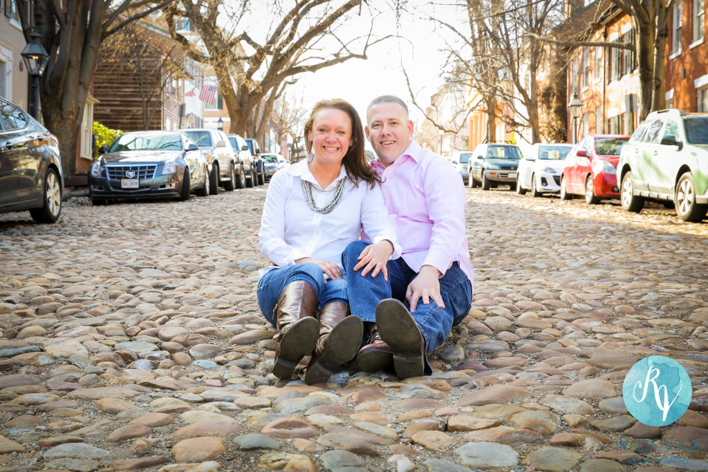 Old Town Alexandria Engagement -2