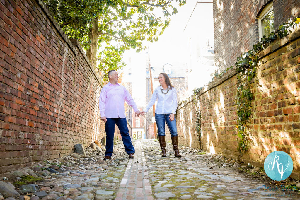 Old Town Alexandria Engagement -8