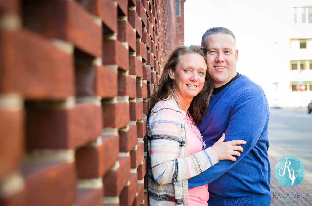 Shawn and Terri's Engagement Session: Old Town Alexandria