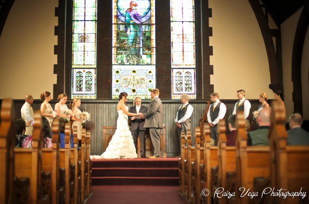 Clint and Sabrina's Wedding: Meriwether Spring Vineyard