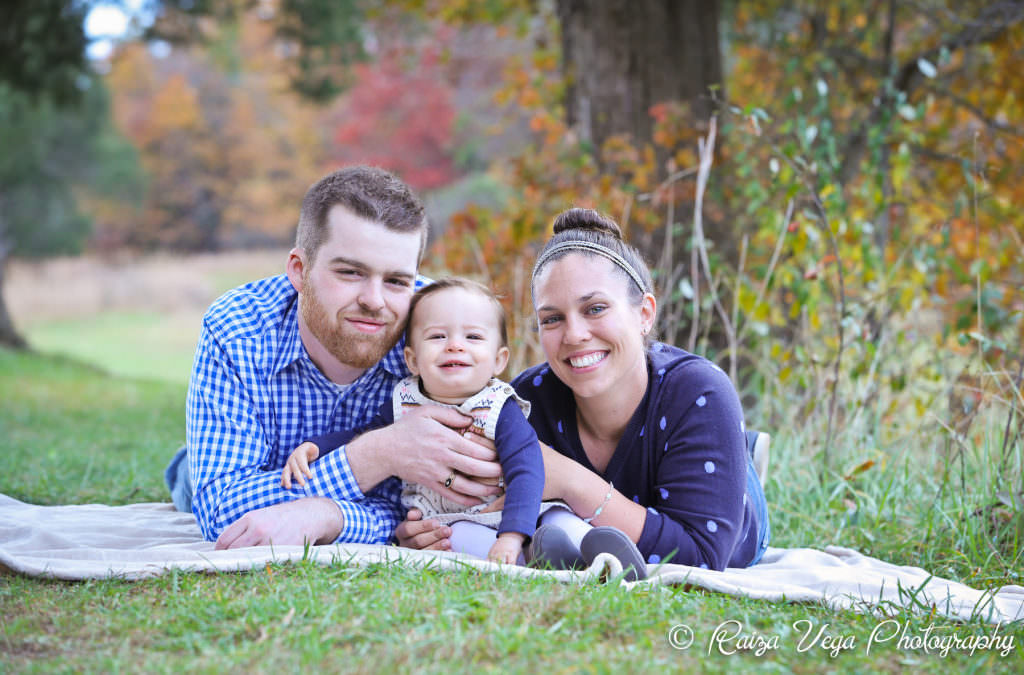 Family Session at Manassas Battlefield